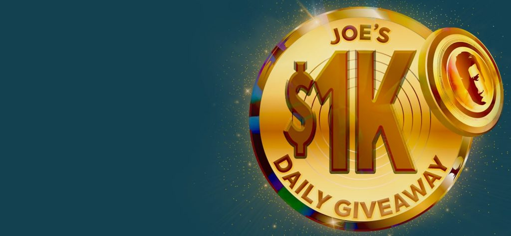 Be the Next Daily $1K Giveaway Winner!